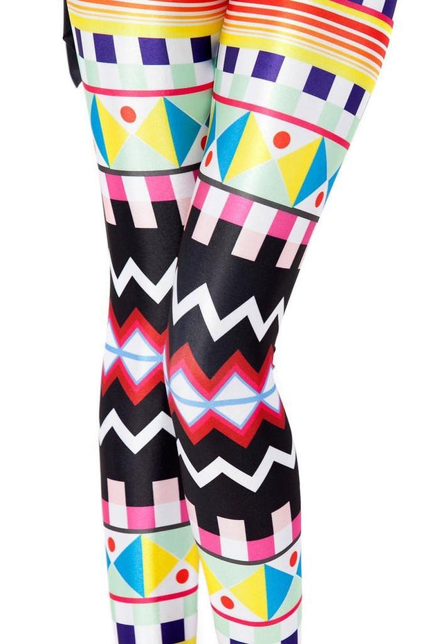 AZTEC LEGGINGS - Lotus Leggings