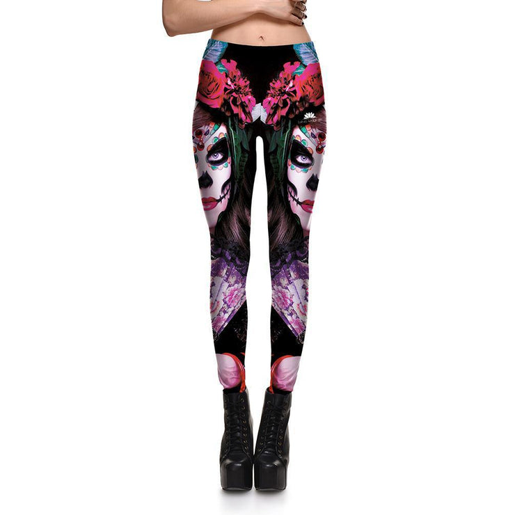 BRIDAL SKULL LEGGINGS
