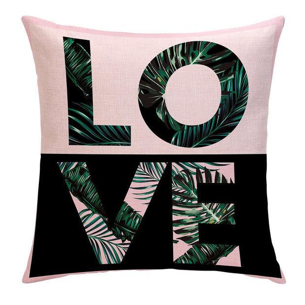 Colorful Palms Pillow Cover - Lotus Leggings