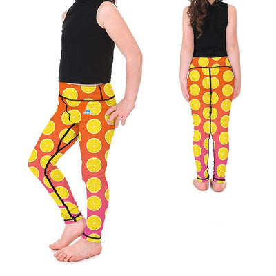 Kid's LotusX™ Lemonade Leggings - Lotus Leggings