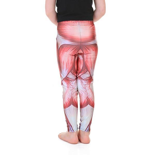 Kid's Muscle Leggings - Lotus Leggings