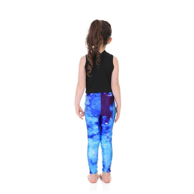Kid's Galaxy Leggings - Lotus Leggings