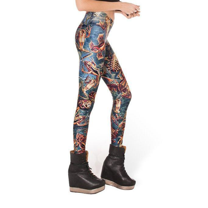 CRAZY FROG LEGGINGS - Lotus Leggings