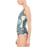 DOLLA DOLLA BILL ONE PIECE SWIMSUIT