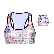 EMOJIS SPORTS BRA