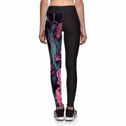 EVENTIDE LION ATHLETIC LEGGINGS - Lotus Leggings