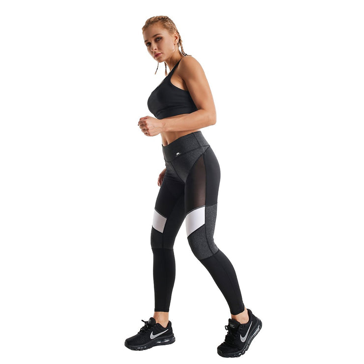 HIGH-RISE FUSION TRAINING LEGGINGS