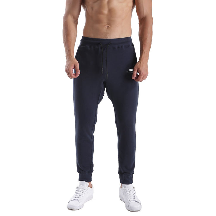 BLUE NAVY WARRIOR MEN'S FIT JOGGERS