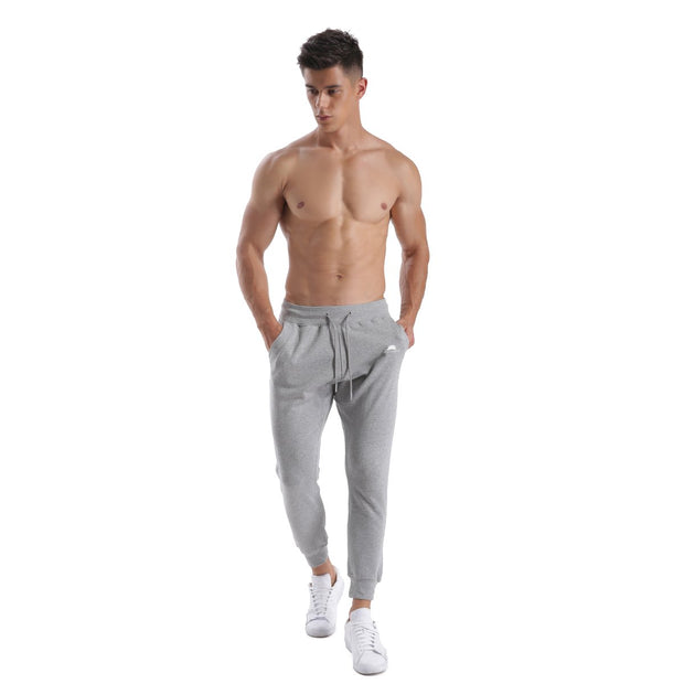 GREY WARRIOR MEN'S FLEECE PANTS