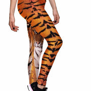 TIGER ATHLETIC LEGGINGS - Lotus Leggings