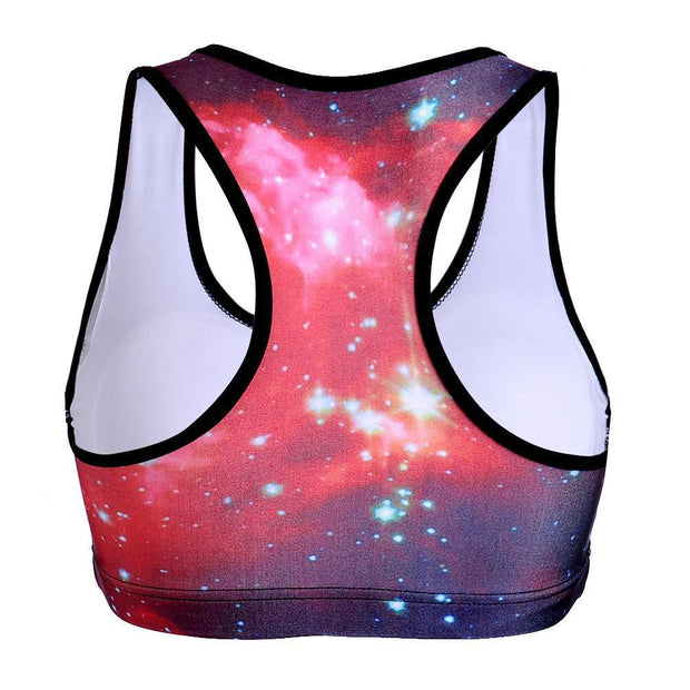 GALAXY SPORTS BRA - Lotus Leggings