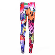 GRAFFITI LEGGINGS - Lotus Leggings