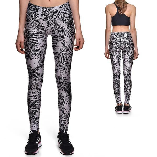 GREY PALM ATHLETIC LEGGINGS