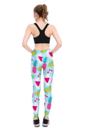 Tropical Fruit Leggings - Lotus Leggings