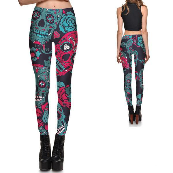 JEWELS OF DEATH LEGGINGS