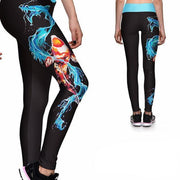 KOI DRAGON ATHLETIC LEGGINGS