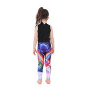 Kid's Unicorn Dino Leggings - Lotus Leggings