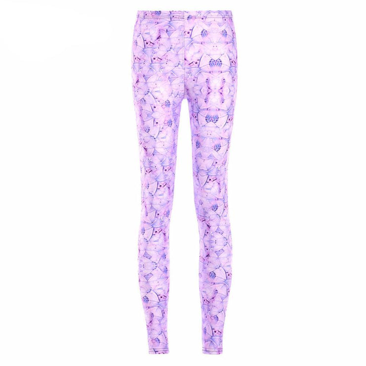 LAVENDER LEGGINGS - Lotus Leggings