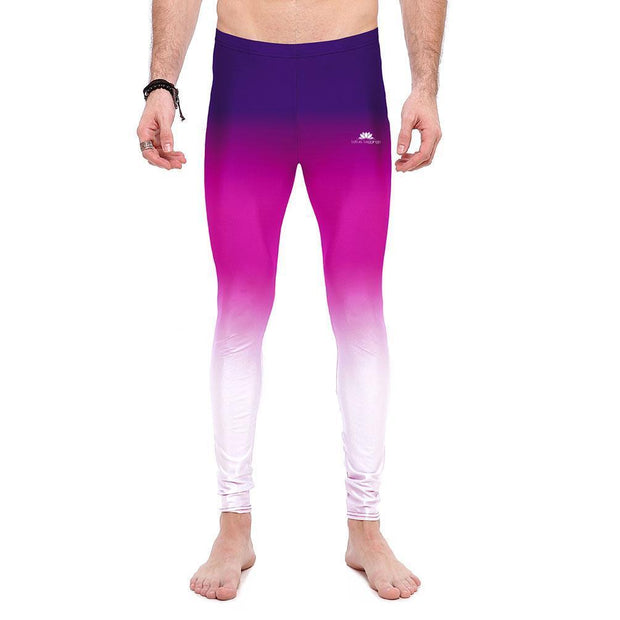 PURPLE OMBRE LEGGINGS