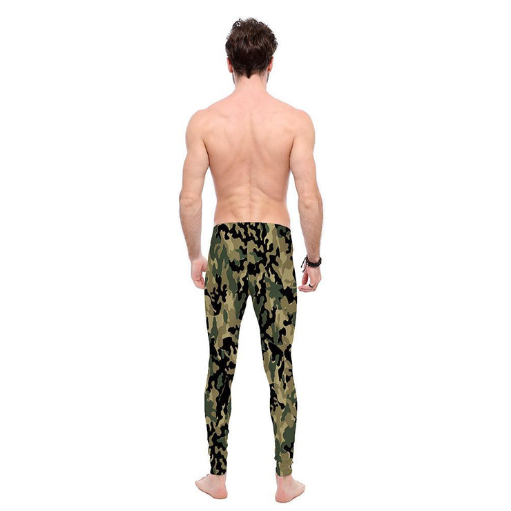 Tan Camo Leggings - Lotus Leggings
