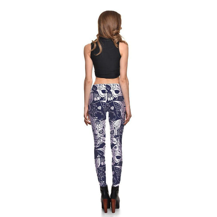 Creepy Kitty Leggings - Lotus Leggings