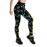 ALIEN INVASION LEGGINGS