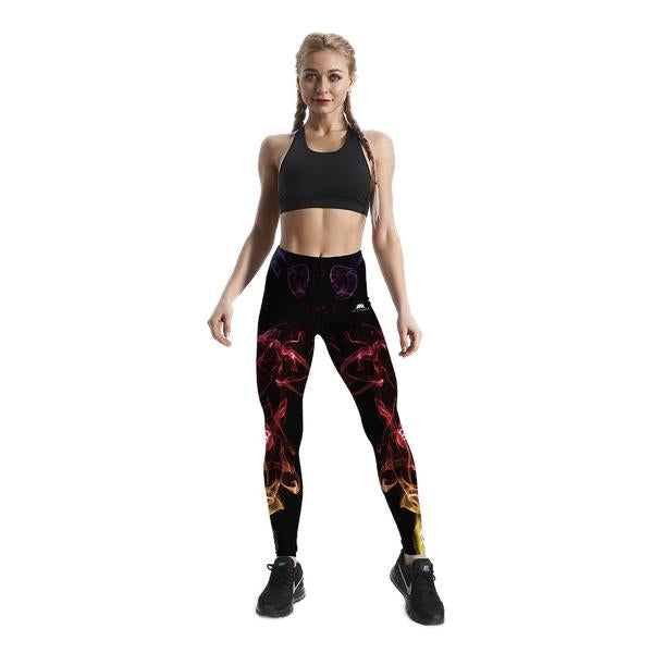 GIRL ON FIRE LEGGINGS