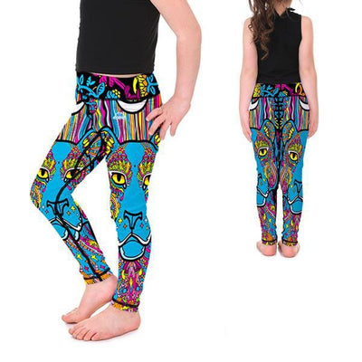 KID'S LOTUSX™ ANIMAL MANDALA LEGGINGS