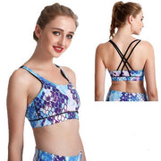 MOSAIC SCALES CRISS-CROSS BRAS