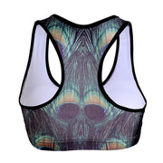 PEACOCK SPORTS BRA - Lotus Leggings