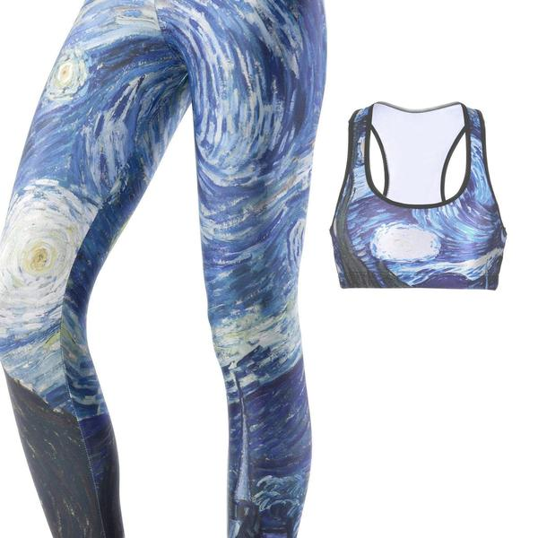 STARRY NIGHT FULL ATHLETIC SET