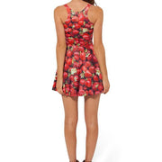 STRAWBERRY REVERSIBLE SKATER DRESS - Lotus Leggings