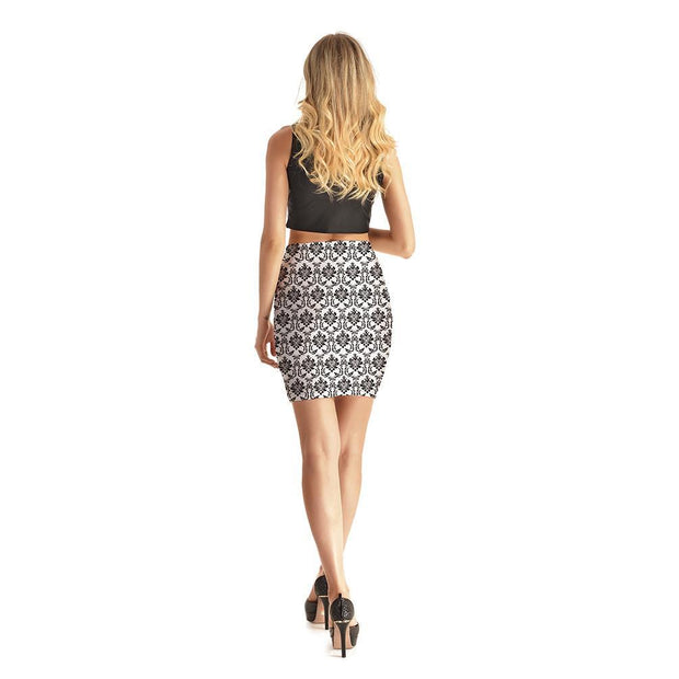 Imperial Short Skirt - Lotus Leggings