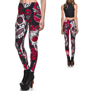 Deadly Garden Leggings - Lotus Leggings