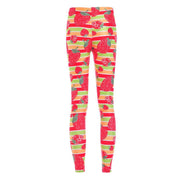 VERY STRAWBERRY LEGGINGS - Lotus Leggings