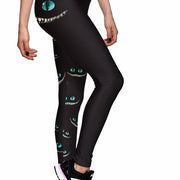 WE'RE ALL MAD HERE ATHLETIC LEGGINGS - Lotus Leggings