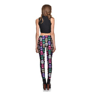 Dia de los Muertos Leggings - Lotus Leggings