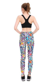 Zebra Cheetah Leggings - Lotus Leggings