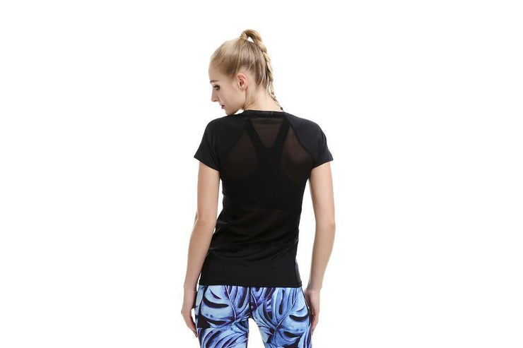 Cut it Out MeshX Athletic Top - Lotus Leggings