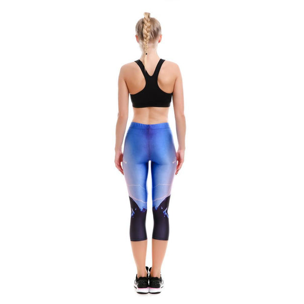 Horsepower Capri - Lotus Leggings