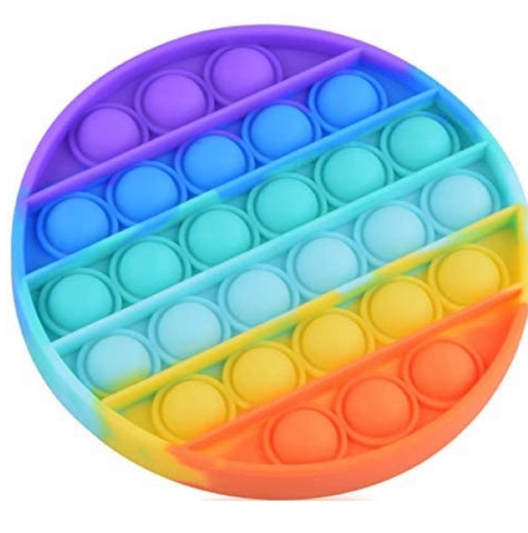 Rainbow Pop Fidget Toy