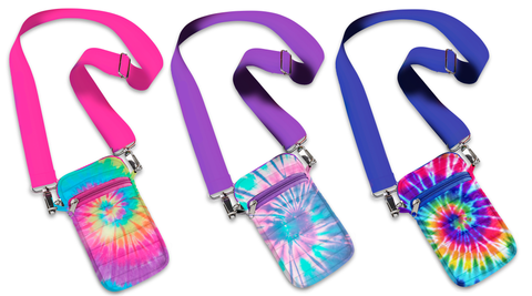 Crossbody Cell Bags - Tie Dye Collection