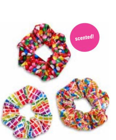 Candy Scented Scrunchies