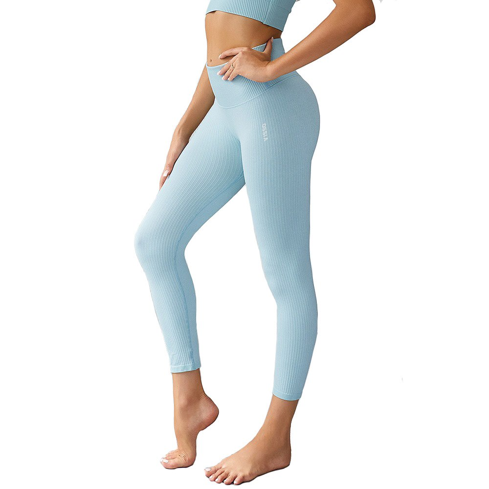 OSSIA Women's Yoga Pants | High Waisted Seamless Leggings