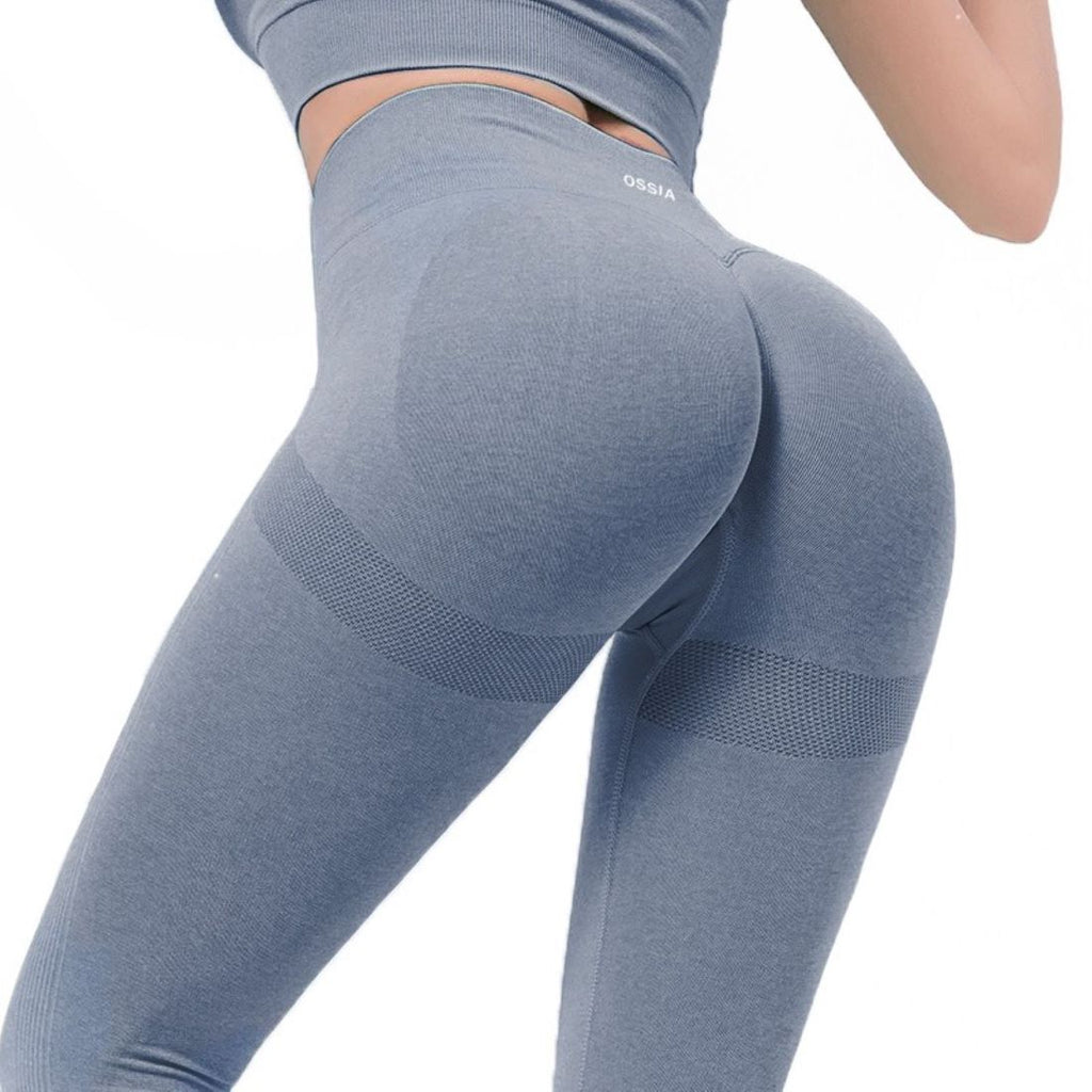 OSSIA Women's  Seamless Yoga Workout Leggings