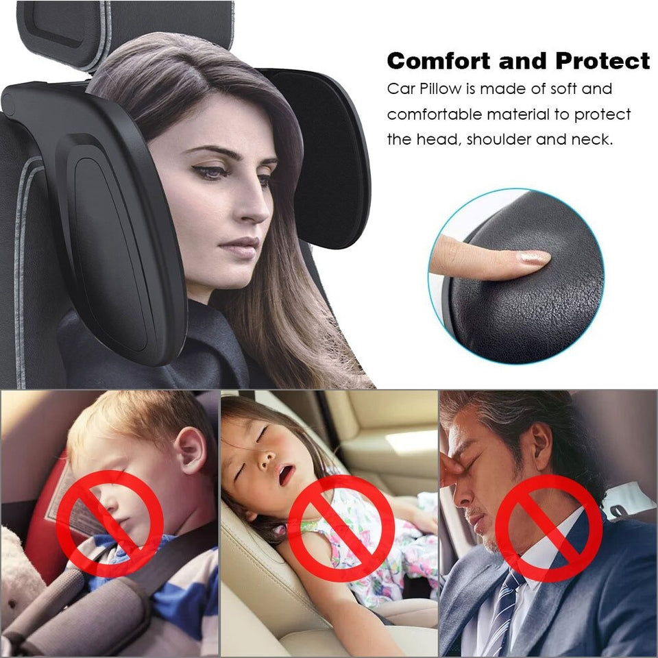 The Ultimate Car Seat Headrest Pillow