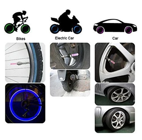 2020 HOT SALE-Waterproof Led Wheel Light
