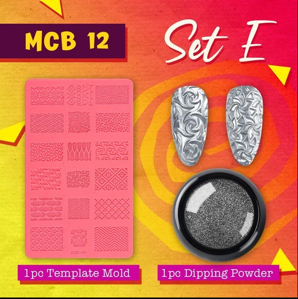 4D Sculpture Nail Art Mold Set