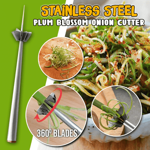 Stainless Steel Plum Blossom Onion Cutter