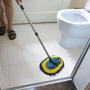 3-in-1 Wash Mop Mitt 180° Rotation